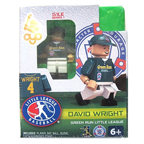 David Wright LLB Green Run Little League Oyo G1S1 Minifigure