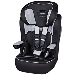 nania imax sp isofix group 1 2 3 car seat in hatrix grey. Black Bedroom Furniture Sets. Home Design Ideas