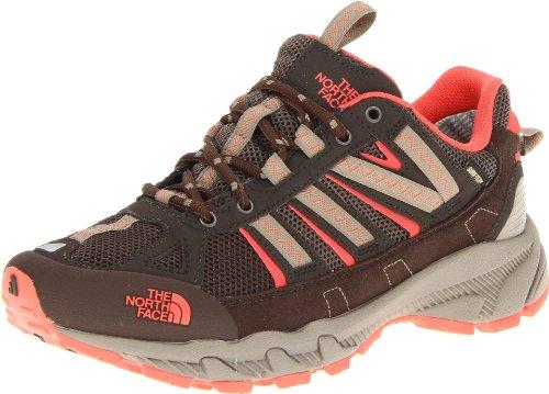 The North Face Women's Ultra 50 GTX XCR Trail Running Shoe,Weimaraner Brown/Radiant Orange,10.5 M US