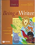 Teacher Manual Volume 2, Being a Writer, Grade 3
