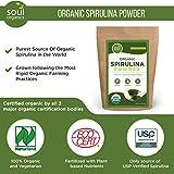 #1 Organic Spirulina Powder, Purest Source & Maximum Nutrient Density