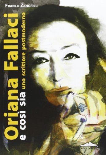 Book jacket for Oriana Fallaci e cosi sia