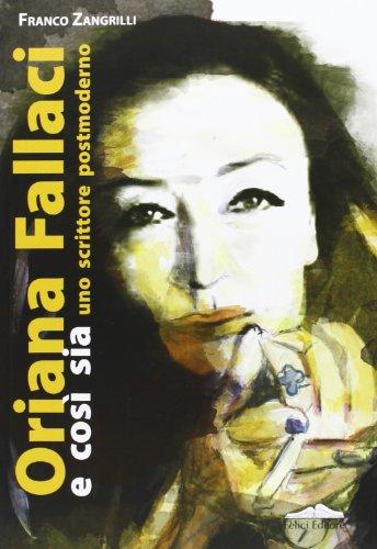 Book jacket for Oriana Fallaci e cosi sia