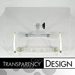IHD-105 Transparent / Clear Book Stand (Bookstand / Bookstands / Holder / Cookbook / Music)