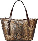 Cole Haan Parker Exotic Small Zip Top Shopper Travel Tote