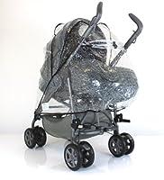 Universal Chicco Nunu Pramette Full Raincover Baby Wind Rain Pram Coverall (pramette & Stroller Compatible) from Baby Travel