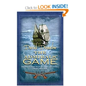 The Admirals Game - David Donachie