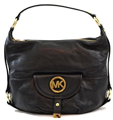 Low Cost Michael Kors Fulton Shoulder - Michael Kors Genuine Leather Shoulder Dp B0083w5nqs