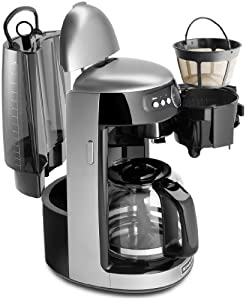 Kitchenaid Architect Series 14 Cup Glass Carafe Coffee Maker - Cocoa Silver from Kitchenaid