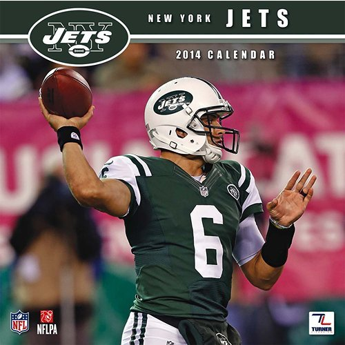 Turner - Perfect Timing 2014 New York Jets Team Wall Calendar, 12 x 12 Inches (8011487) at Amazon.com