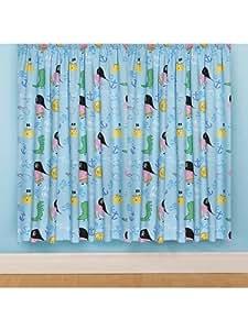 "Peppa Pig George 'Pirate' 54"" Drop Curtains"