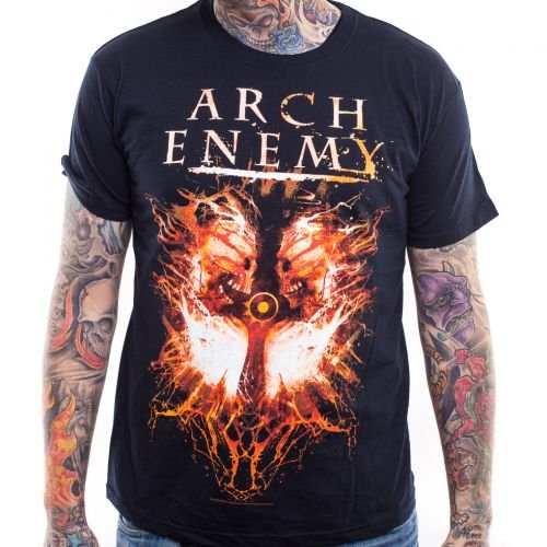 T-shirt., Arch Enemy, Twin Skulls nero Large