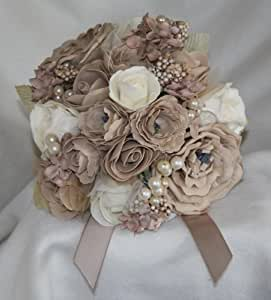 Artificial Wedding Flowers Foam Roses Kitchen Home