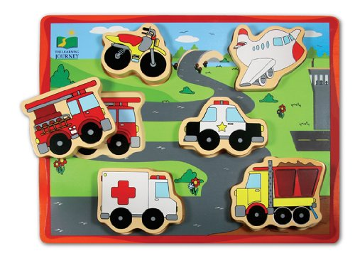 Cheap Fun The Learning Journey Chunky Puzzle (Transportation) (B001EY72XE)