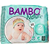 Abena Bambo Nature Premium Baby Diapers, Mini, Size 2, 30 Count (Pack Of 6)