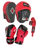Blk/Red Curved Focus pads, Hook & Jab...