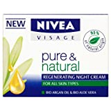 Nivea Visage Pure and Natural All Skin Types Night Cream 50ml