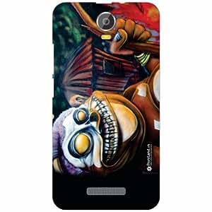 Micromax Canvas Juice 2 Back Cover - Silicon Classy Designer Cases