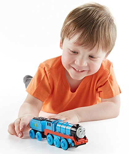 Fisher-Price Thomas the Train Wooden Railway Battery-Operated Gordon Train
