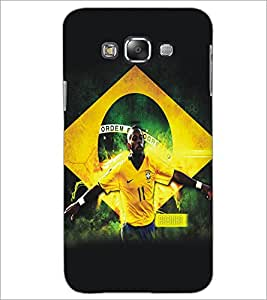 PrintDhaba Sports D-5194 Back Case Cover for SAMSUNG GALAXY A8 (Multi-Coloured)