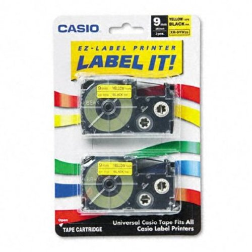 New Casio Inc. XR9YW2S Tape Cassette for Label Printer