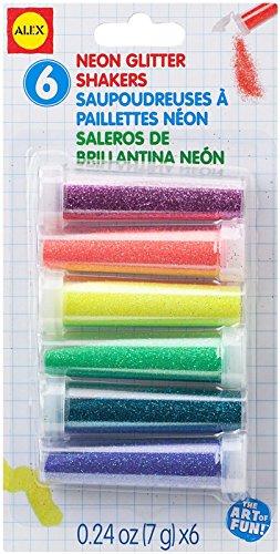 ALEX Toys Artist Studio 6 Neon Glitter Shakers - 1