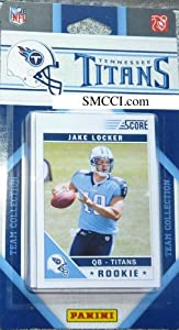 Panini Tennessee Titans 2011 Team Collection Trading Card Set