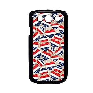 Vibhar printed case back cover for Samsung Galaxy J1 4thJulyHearts
