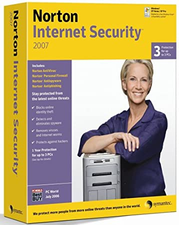 Norton Internet Security Suite 2007 - 3 User [OLD VERSION]