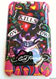 IPod Touch Case ED Hardy back Cover Design for iPod Touch 2nd 2G & 3rd Generation 3G 8GB...