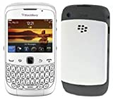 BlackBerry Curve 3G 9300 - Unlocked GSM SmartPhone with 2 MP Camera, Wi-Fi, GPS, Bluetooth - International Version - White (Certified Refurbished)