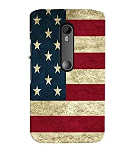Printvisa Flag Design Pattern Back Case Cover for Motorola Moto G3::Motorola Moto G (3rd Gen)