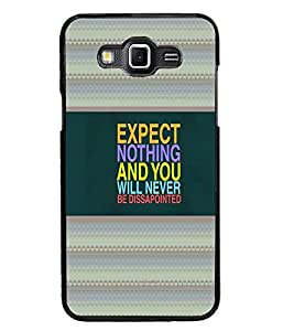 PrintDhaba Quote D-4788 Back Case Cover for SAMSUNG GALAXY GRAND 3 (Multi-Coloured)