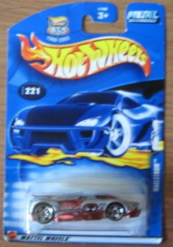 Hot Wheels 2002 Maelstrom 221 SILVER - 1