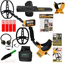 buy Garrett Ace 350 Metal Detector Ultimate Treasure Hunter Package W/Free Headphones & Dvd