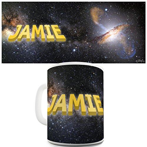 Twisted Envy nome personalizzato Galaxy Spazio Divertente tazza in ceramica