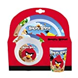 Angry Birds 3-Piece Melamine Kids TablewareSet
