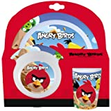 Angry Birds 3-Piece Melamine Kids TablewareSet