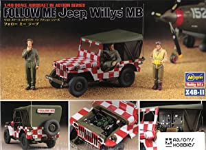 Hasegawa 1/48 U.S. Follow Me Jeep Willys MB