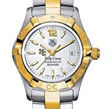 TAG HEUER watch:Holy Cross TAG Heuer Watch - Women's Two-Tone Aquaracer at M.LaHart