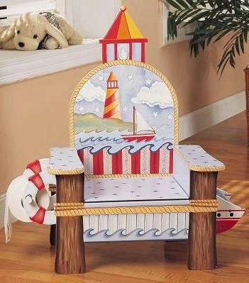 Lighthouse Potty Chair, by Teamson Design