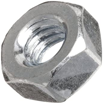 Steel Hex Nut, DIN, M6-1 (Pack of 100)
