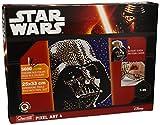 Quercetti Q 0855-4 cuadros De Pixel Art-Darth Vader-6400 botones