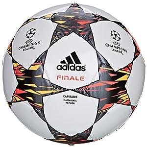 adidas Capitano Champions League Finale 2014-2015 - Balón de fútbol (talla 5), color blanco, azul y amarillo