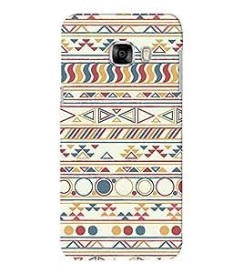 EPICCASE fling flang Mobile Back Case Cover For Samsung C5 (Designer Case)