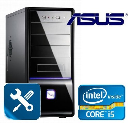 Tronics24 AufrüstPC Intel Core i5-2320 Sandy Bridge (Quadcore) 4x 3 GHz, 4 GB DDR3, Asus mit Intel HD2000, USB 3.0, Sound, GigabitLan