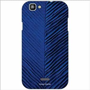 Design Worlds - XOLO One Designer Back Cover Case - Multicolor Phone Cover