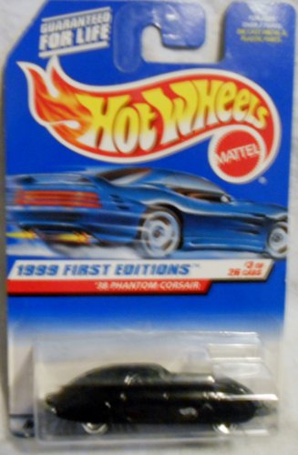 Hot Wheels, '38 Phantom Corsair, 1999 First Editions 3 of 24, #656 - 1