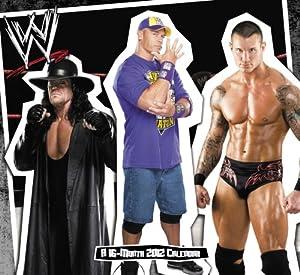 2012 WWE Superstars Wall Calendar Day Dream