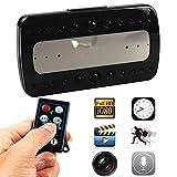 Paiter_Beats Newest Home Security 1080P Digital Alarm Clock IR Night Vision Camera Remote Control Spy Camera Dvr
